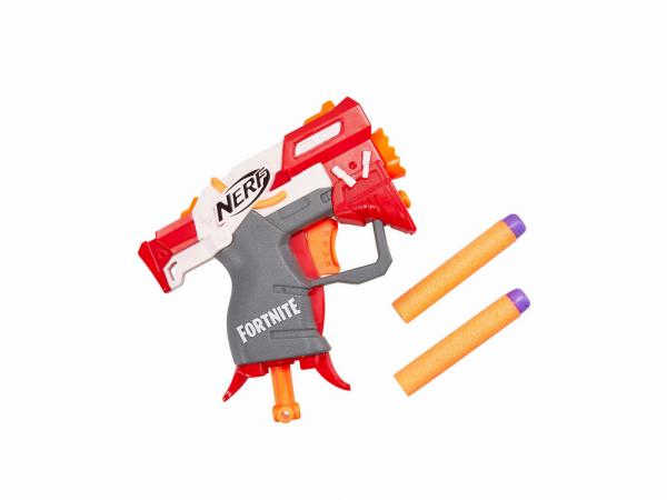 Hasbro Ատրճանակ՝ Փամփուշտով NERF FORTNITE MICROSHOTS «TS»