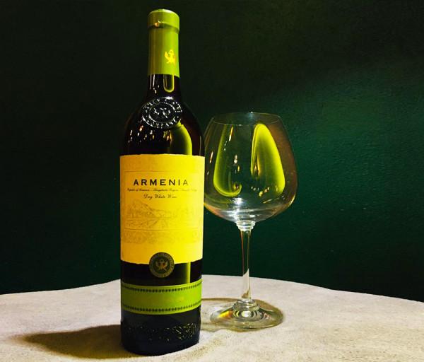 Սպիտակ չոր գինի Արմենիա 0.75լ