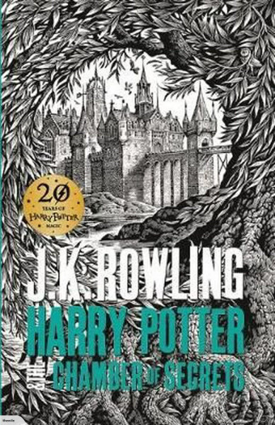 """J. K. Rowling """"Harry Potter and the Chamber of Secrets"""" Bookinist"""