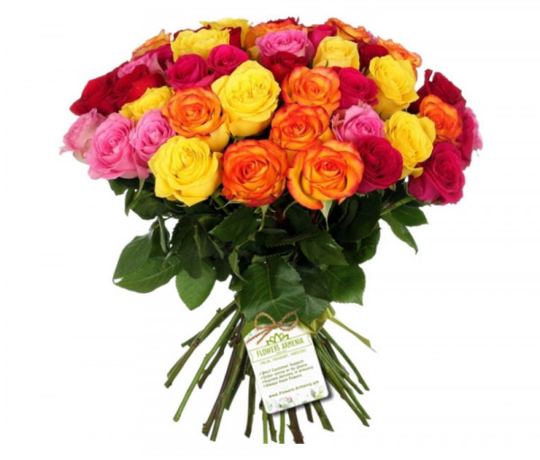 Ծաղկեփունջ «Կրակոտ Գեղեցկուհի» Flowers Armenia