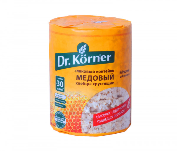 Dr. Korner Crispbread Honey 100g