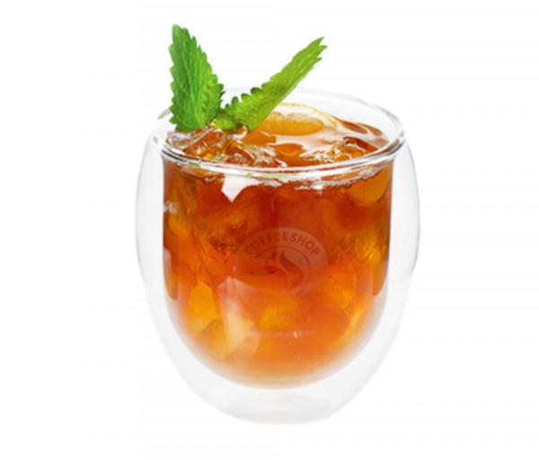 Դեղձով և կիտրոնով սառը թեյ Էսպրես Իթ