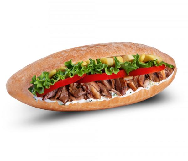 Տավարի գիրոս կիպրական պիտա հացով Mr. Gyros