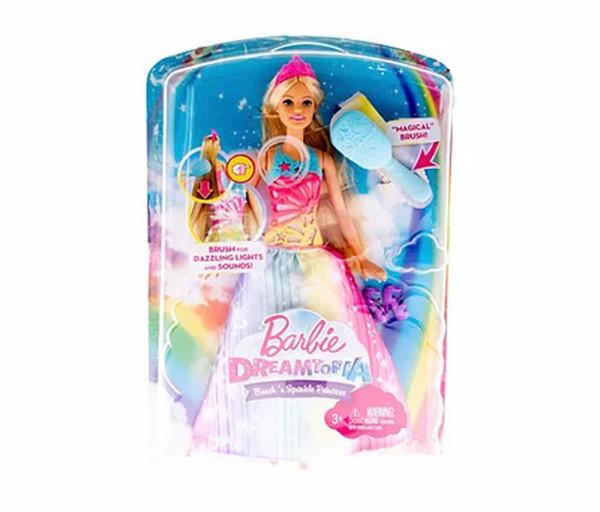 Տիկնիկ բարբի Dreamtopia Brush'n Sparkle Princess ձայնային և լուսային էֆֆեկներով