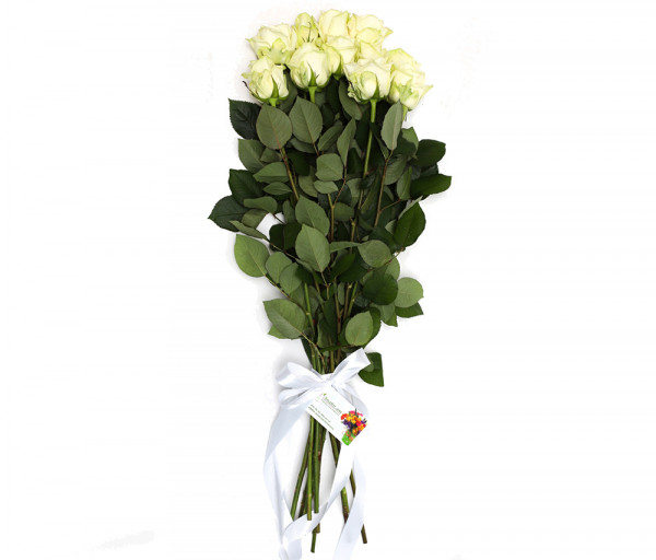 Bouquet of 11 white roses Anahit