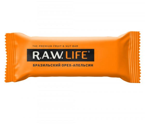 R.A.W. Life Brazil Nut-Orange 47g