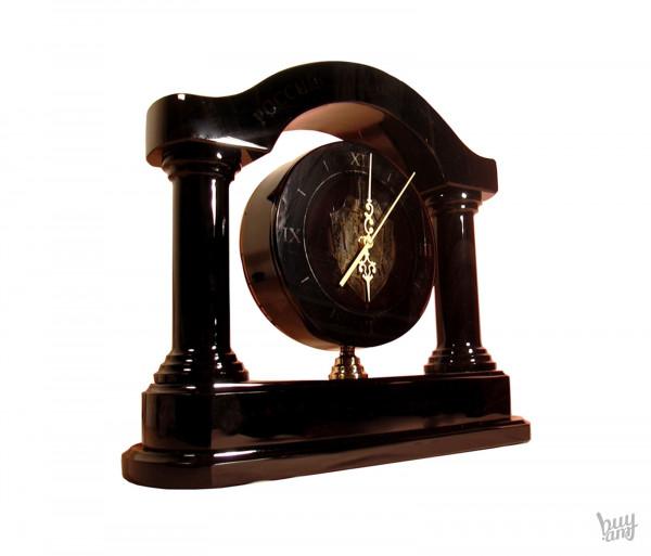 Սեղանի ժամացույց օբսիդիան «Համաշխարհային»