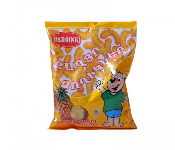 Daroink Sweet Corn Sticks Pineapple 80g