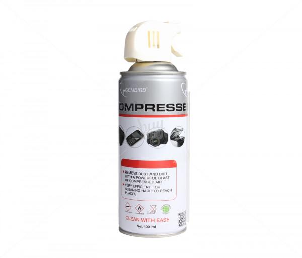 Մաքրող միջոց Gembird Compressed air duster, 400 ml CK-LCD