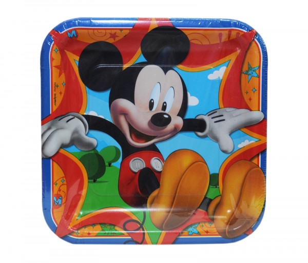 Ափսեներ «Mickey Mouse» (8 հատ)