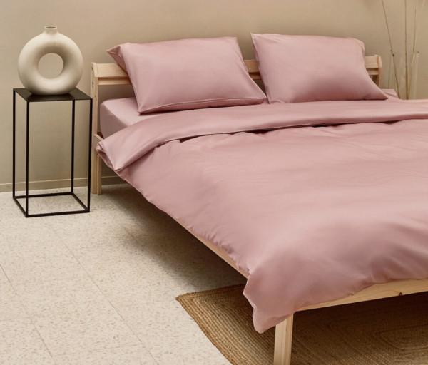 Անկողնային սպիտակեղենի հավաքածու Վարդագույն (2 տեղանոց)