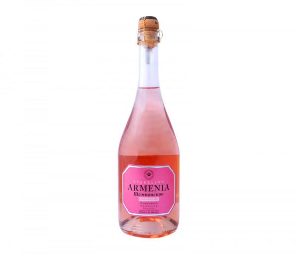 Արմենիա Շամպայն Վարդագույն Կիսաչոր 750մլ