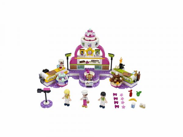 Lego Friends Կառուցողական խաղ «Հրուշակագործների մրցույթ»