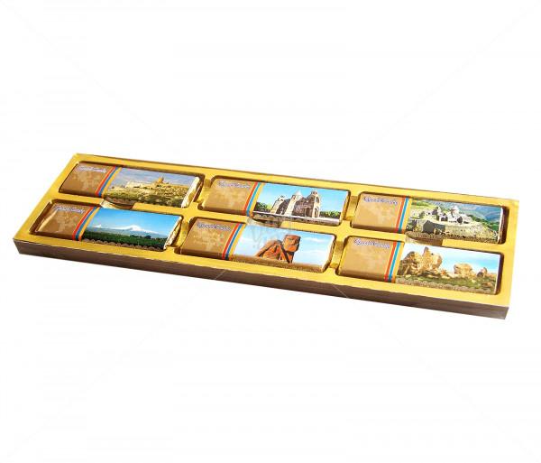 Շոկոլադե սալիկ «Հայաստան» Grand Candy