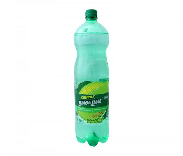 Քարֆուր Գազավորված ըմպելիք Կիտրոն-Լայմ 1.5լ