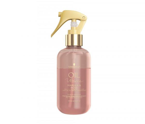 Սփրեյ կոնդիցիոներ բարակ մազերի համար Oil Ultime Schwarzkopf 200մլ