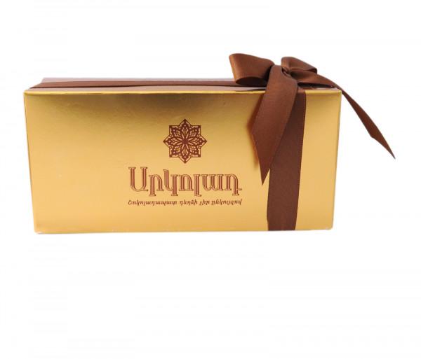 Արկոլադ Շոկոլադապատ դեղձ Ընկույզով 210գ