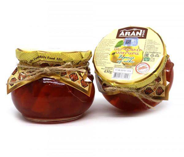 Quince jam «ARAN Food» 430g