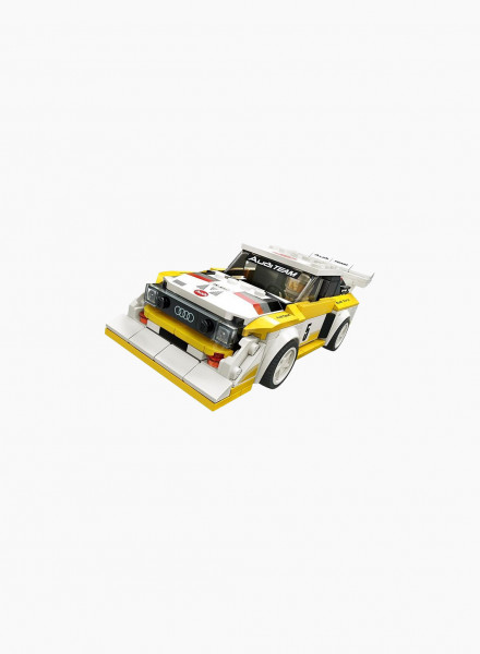 Կառուցողական խաղ Speed Champions «1985 Audi Sport Quattro S1»
