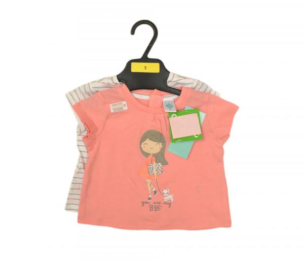 Տեքս Մանկական Աղջկա բլուզ Բաց վարդագույն x2