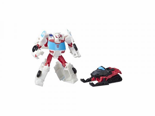 Hasbro Հերոսի Արձանիկ Transformers CYBERVERSE SPARK ARMOR «RATCHET»