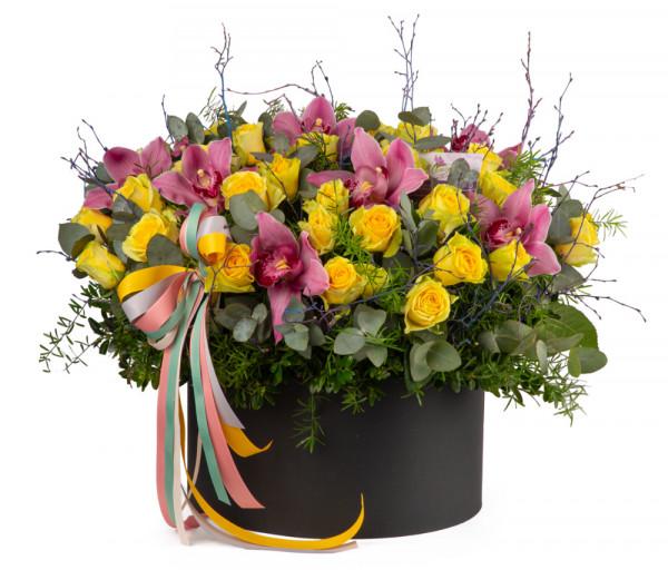 Ծաղկային կոմպոզիցիա N36 Cataleya Flowers