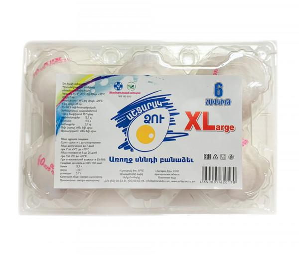 Աշտարակ Ձու XL x6