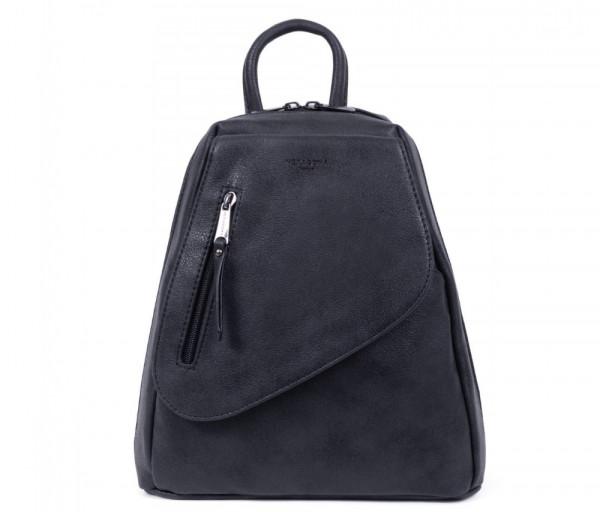 Կանացի ուսապարկ Backpack Black Hexagona