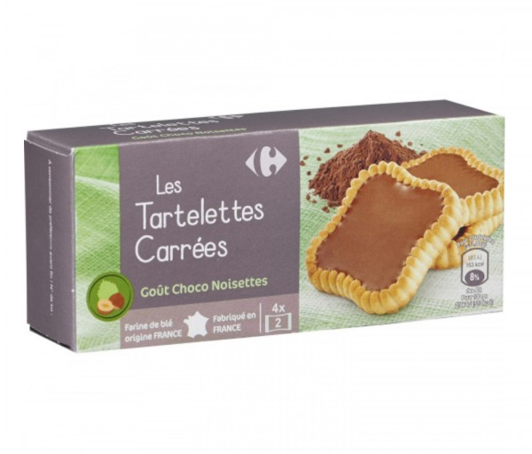 Carrefour Tartelettes Choco Filling 127g