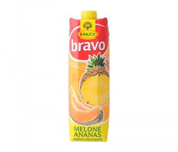 Բրավո Բնական հյութ Սեխ-Արքայախնձոր 1լ