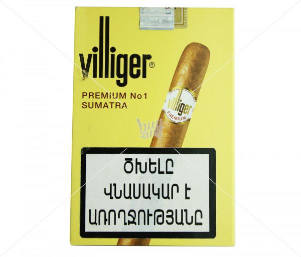 Սիգարիլաներ Villiger Premium No.1 Sumatra 5