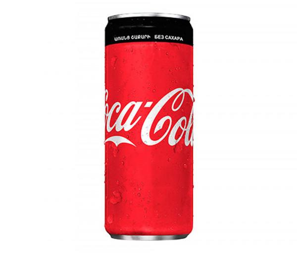 Զովացուցիչ ըմպելիք «Coca-Cola Zero» 0.33լ