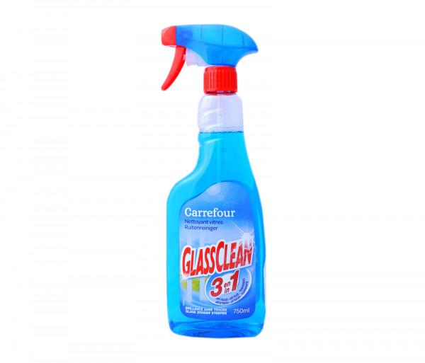 Քարֆուր Ապակի մաքրելու հեղուկ 3-ը 1-ում 750մլ