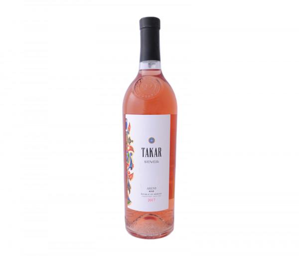 Տակառ Վարդագույն անապակ գինի 0.75լ