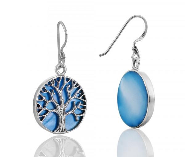 Silver earrings SE110B