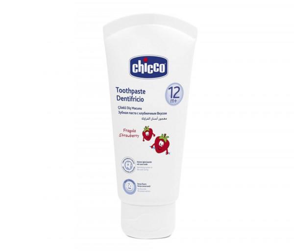 Toothpaste Strawberry 12m+ No Fluoride 074365CH