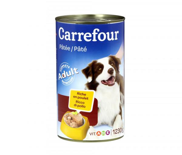 Carrefour Dog Food Chicken 1.23kg