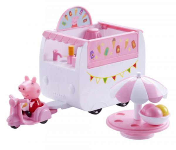 Peppa Pig խաղալիքների հավաքածու՝ Խոզուկ Պեպպայի պաղպաղակի մեքենան 529000EL