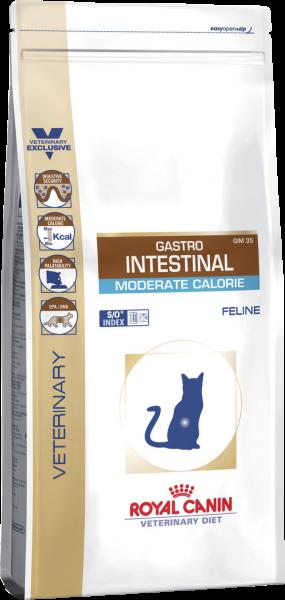 Կատվի չոր կեր GASTRO INTESTINAL MODERATE CALORIE 0.4 կգ