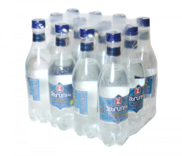 Ջերմուկ Հանքային ջուր Կիտրոն 0.5լx12