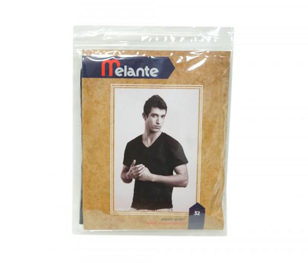 Մելանտե Տղամարդու շապիկ Սուր կտրվածքով Սև 9210352
