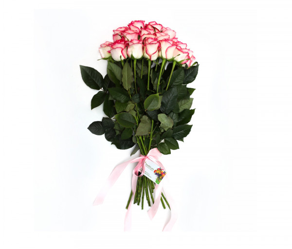Bouquet of 15 pink roses Anahit