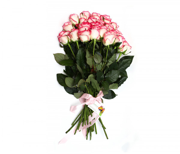 Bouquet of 25 pink roses Anahit