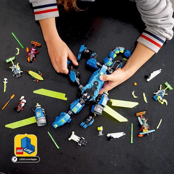 Lego Ninjago Կառուցողական Խաղ «Ջայի կիբերվիշապը»