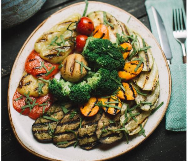 Գրիլ արված բանջարեղեն Eat and Fit