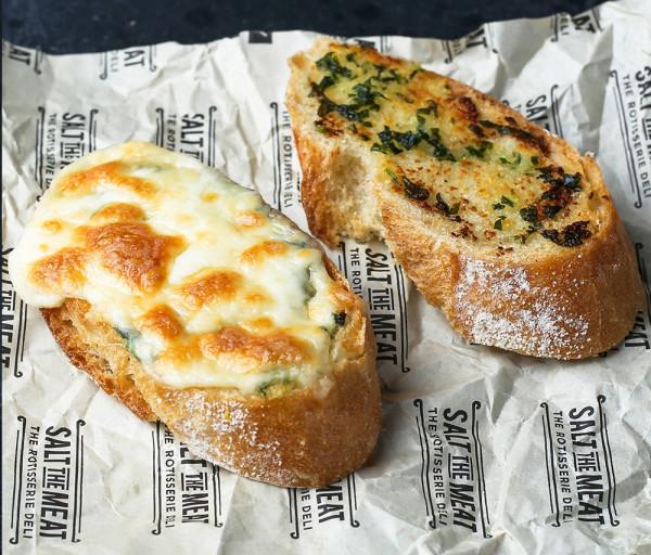 Սխտորով հաց Մոցարելլա պանրով Սոլթ Դը Միթ