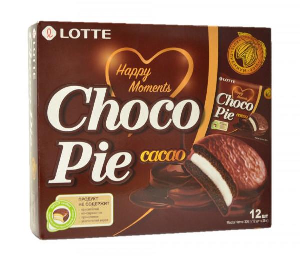 Lotte Chocopie Cocoa 336g
