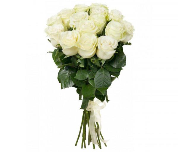 Dutch roses White 15 pcs Coco Fiori