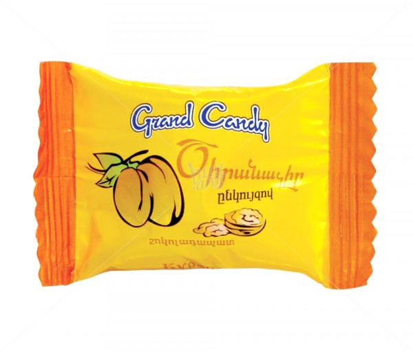 Շոկոլադապատ չրեր միքս «Շոկոլադապատ ծիրանաչիր» Grand Candy