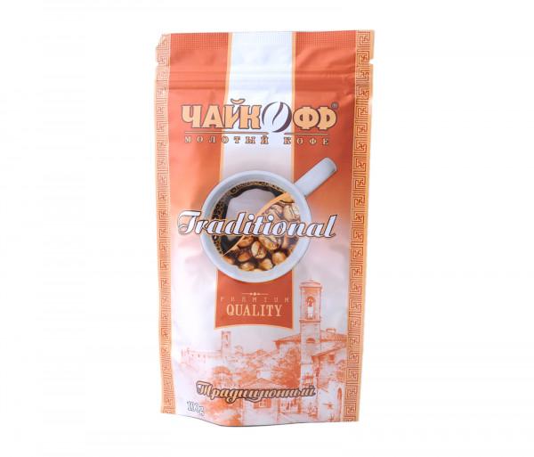 Չայկոֆֆ Ավանդական Սև սուրճ 100գ